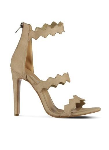 Marjin Yüksek Topuklu Ayakkabı Bej
